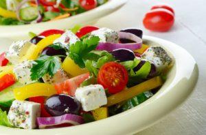 friss, görög saláta
